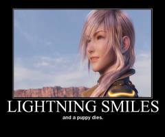 Motivational: Lightning smiles by t-lockhart