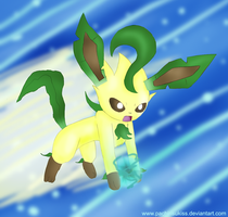 Leafeon by Kalinel