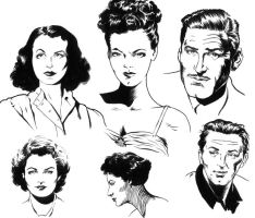 Hollywood Faces by ColbyBluth