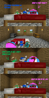 Sly and the Gang in: Minecraft Mayhem #3 by Cimmerianshade