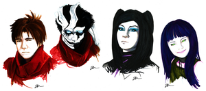 Ergo Proxy Portraits by Skinrarb