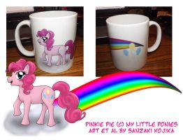 Pinkie Pie Mug by kojika