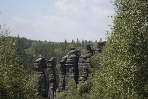 Saxon Switzerland III by Criosdan