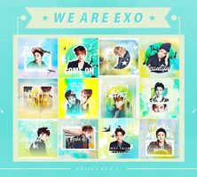 140223 / EXO Icon Set . by FTong