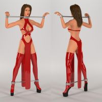 Pony Slave Dress by heveti