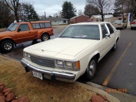 1991 Ford Crown Victoria LX by eyecrunchyfraug
