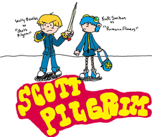 KND_ScottPilgrim_Cross by Keiichi-Fuqua
