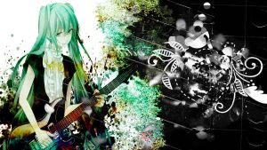 Hatsune Miku Vocarock collection by SourthyTears