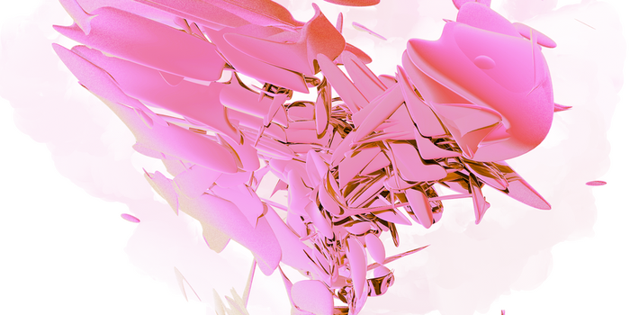 Pink Abstract by LoogieTheSpheal