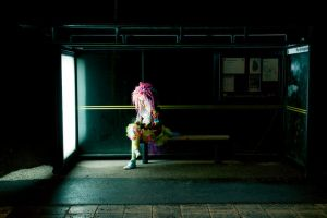 Waiting for the bus by ziw-monster