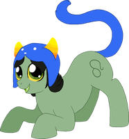 :33 *ac pounces out from her cave, tail wiggling* by AskPonyNepeta