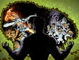 Fantastic Four 610 cover FF 22 cover by RyanStegman