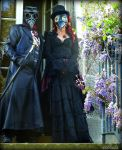 Lord and Lady Plague Doctor 2 by Estruda