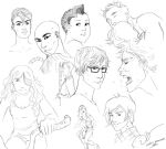 Some Sketches by palnk