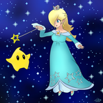 Rosalina and Luma by Sylverstone14