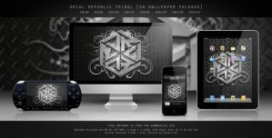 DECAL REPUBLIC TRIBAL by MIATARI