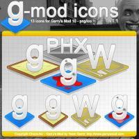 g-mod icons v1.1 by Chozo-MJ