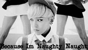 G-Dragon Is Naughty Gif Macro by SungminHiroto