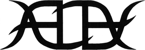 """Ambigram """"Alex"""" by RenounceReality"""