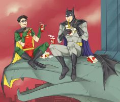 Batman and Robin by LinART