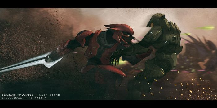 HALO: FAITH - Last Stand by ApneicMonkey
