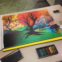 Colorful Tree by bianqui-creates