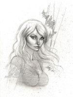 "LOST sketch ""Claire"" by J-Scott-Campbell"