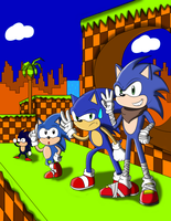 Sonic Generations by LordRobrainiac