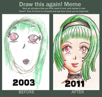 Before and After Meme by ChaoticBlossoms