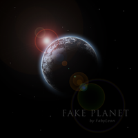 Fake Planet by FabyLeon