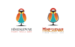Wine glass + Bird Logo for a winery business by DianaGyms