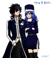 Gruvia by Inspired-Destiny