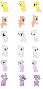 Foal Bases part 2 by EdgeofFear