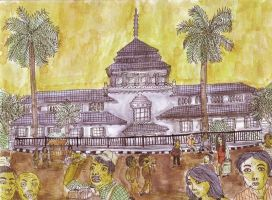 Gedung Sate as bandung icon by titoyusuf