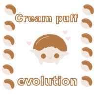 cream puff evolution by LouBerry