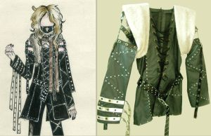 Visual kei 3rd design costume by Alzheimer13