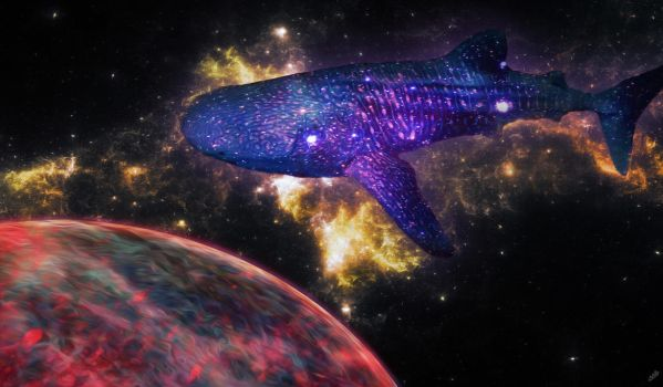 Cosmic Shark by AceFinch