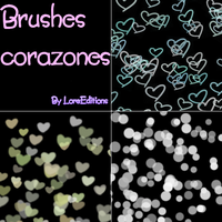 Brushes corazoncitos by LoreEdition