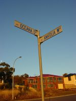 Street sign by ashzstock