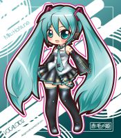 VOCALOID2 - Miku Hatsune by Akage-no-Hime