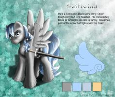 Colonel Swiftwind by FlyingPony