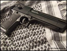 desert eagle 50ae kwc airsoft by karphana