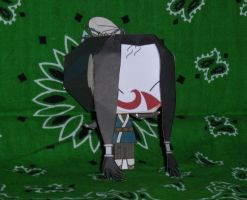 Haku Papercraft - With Mask by HaoLRed