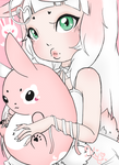 Chubby Bunny Dp by PudgyPlushie