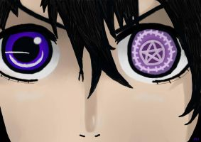 Eyes Wide Open - Ciel Phantomhive by Animance