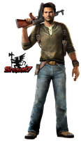 Nathan Drake - Render 22 by snakeff7