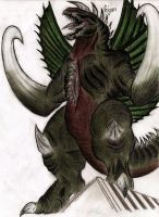 Gigan by MonsterKingOfKarmen