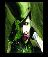 Marilyn Manson Absinthe Eye by 6nailbomb9