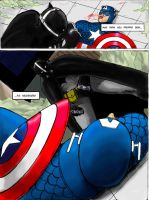 batman vs captain america pg7 by rocksilesbarcellos