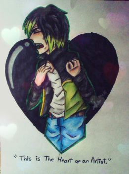 This Is The Heart of an Artist./ DAGames by Miu-Chan16